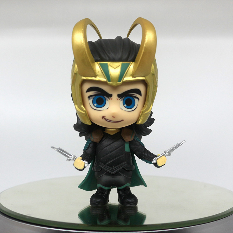juguete personalizado de pvc marvel cartoon collection the avenge Loki thor figuras de acción